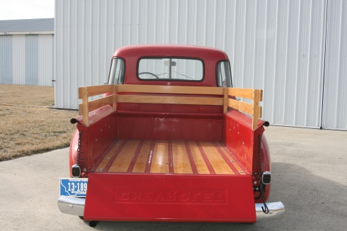 Truck bed.